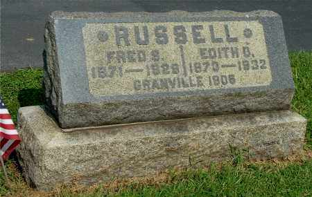RUSSELL, FRED S - Gallia County, Ohio | FRED S RUSSELL - Ohio Gravestone Photos