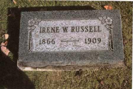RUSSELL, IRENE - Gallia County, Ohio | IRENE RUSSELL - Ohio Gravestone Photos