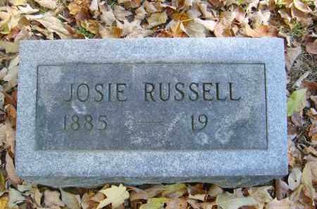 RUSSELL, JOSIE - Gallia County, Ohio   JOSIE RUSSELL - Ohio Gravestone Photos