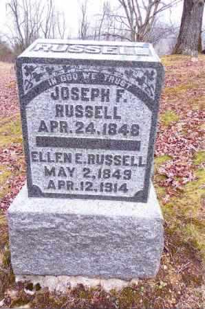 RUSSELL, JOSEPH F. - Gallia County, Ohio | JOSEPH F. RUSSELL - Ohio Gravestone Photos