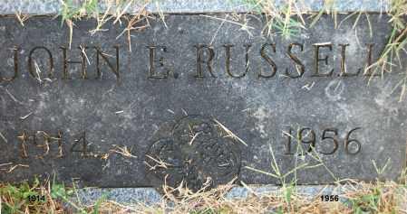 RUSSELL, JOHN E. - Gallia County, Ohio | JOHN E. RUSSELL - Ohio Gravestone Photos