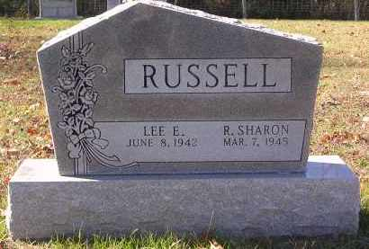 RUSSELL, R. - Gallia County, Ohio | R. RUSSELL - Ohio Gravestone Photos