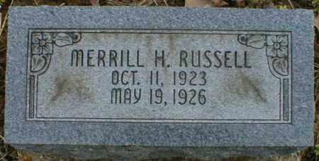 RUSSELL, MERRILL - Gallia County, Ohio | MERRILL RUSSELL - Ohio Gravestone Photos