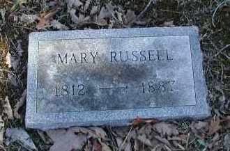 RUSSELL, MARY - Gallia County, Ohio | MARY RUSSELL - Ohio Gravestone Photos
