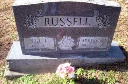 RUSSELL, NOEL - Gallia County, Ohio | NOEL RUSSELL - Ohio Gravestone Photos