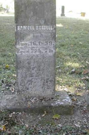 RUSSELL, SAMUEL - Gallia County, Ohio | SAMUEL RUSSELL - Ohio Gravestone Photos