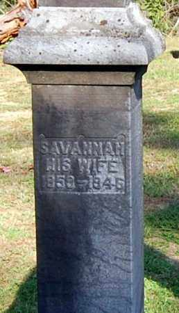 RUSSELL, SAVANNAH (CLOSE-UP) - Gallia County, Ohio | SAVANNAH (CLOSE-UP) RUSSELL - Ohio Gravestone Photos
