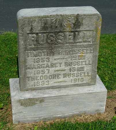 RUSSELL, TIMOTHY B - Gallia County, Ohio | TIMOTHY B RUSSELL - Ohio Gravestone Photos