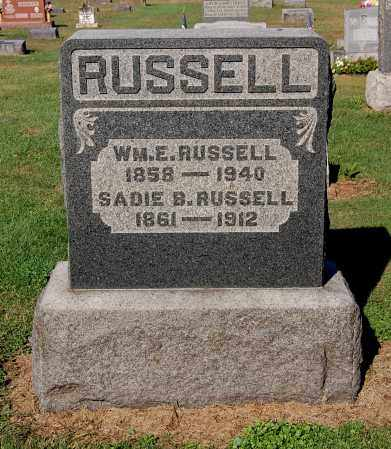 RUSSELL, WILLIAM E - Gallia County, Ohio | WILLIAM E RUSSELL - Ohio Gravestone Photos