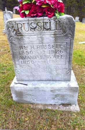 SCOTT RUSSELL, AMANDA E. - Gallia County, Ohio | AMANDA E. SCOTT RUSSELL - Ohio Gravestone Photos