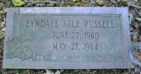 RUSSELL, ZYNDALL - Gallia County, Ohio | ZYNDALL RUSSELL - Ohio Gravestone Photos