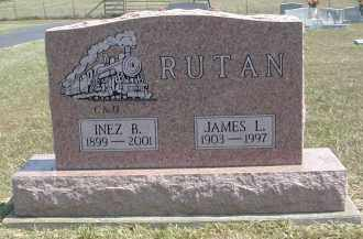 MOREHOUSE RUTAN, INEZ - Gallia County, Ohio | INEZ MOREHOUSE RUTAN - Ohio Gravestone Photos