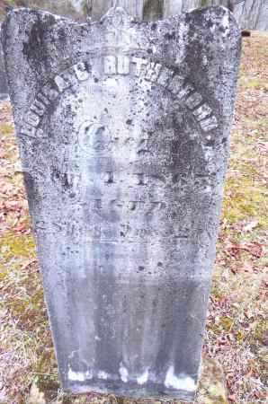 RUTHERFORD, LOUISA G. - Gallia County, Ohio | LOUISA G. RUTHERFORD - Ohio Gravestone Photos