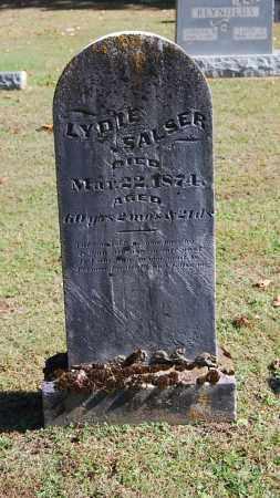 SALSER, LYDIE - Gallia County, Ohio | LYDIE SALSER - Ohio Gravestone Photos