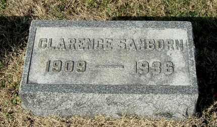 SANBORN, CLARENCE - Gallia County, Ohio | CLARENCE SANBORN - Ohio Gravestone Photos
