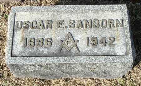 SANBORN, OSCAR E - Gallia County, Ohio | OSCAR E SANBORN - Ohio Gravestone Photos