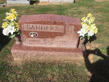 SANDERS, GARNET - Gallia County, Ohio   GARNET SANDERS - Ohio Gravestone Photos