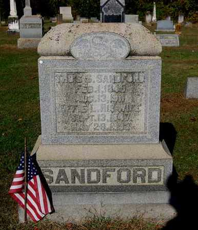 ANDERSON SANDFORD, EFFIE LUCY - Gallia County, Ohio | EFFIE LUCY ANDERSON SANDFORD - Ohio Gravestone Photos