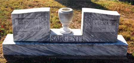SARGENT, GLEN H. - Gallia County, Ohio | GLEN H. SARGENT - Ohio Gravestone Photos