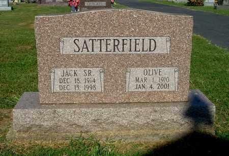 SATTERFIELD, OLIVE - Gallia County, Ohio | OLIVE SATTERFIELD - Ohio Gravestone Photos