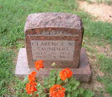 SAUNDERS, CLARENCE W. - Gallia County, Ohio | CLARENCE W. SAUNDERS - Ohio Gravestone Photos