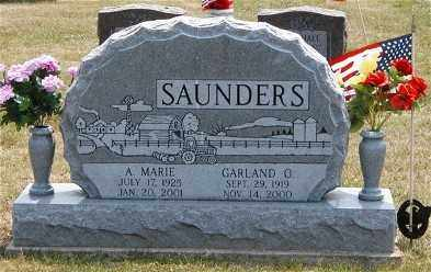 SAUNDERS, MARIE - Gallia County, Ohio | MARIE SAUNDERS - Ohio Gravestone Photos