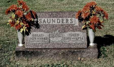 SAUNDERS, EDITH - Gallia County, Ohio | EDITH SAUNDERS - Ohio Gravestone Photos