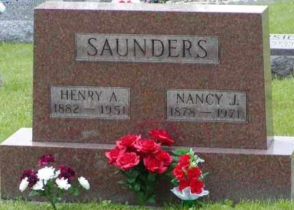 SAUNDERS, HENRY A. - Gallia County, Ohio | HENRY A. SAUNDERS - Ohio Gravestone Photos