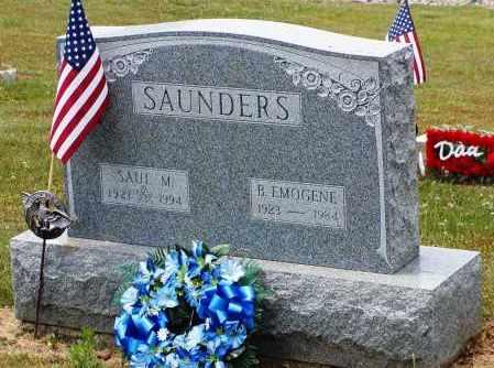 SAUNDERS, EMOGENE - Gallia County, Ohio | EMOGENE SAUNDERS - Ohio Gravestone Photos