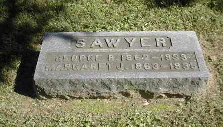 SAWYER, GEORGE - Gallia County, Ohio   GEORGE SAWYER - Ohio Gravestone Photos