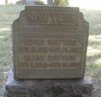 SAWYERS, KAISER - Gallia County, Ohio | KAISER SAWYERS - Ohio Gravestone Photos
