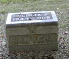 SAWYERS, LUCINDA - Gallia County, Ohio | LUCINDA SAWYERS - Ohio Gravestone Photos