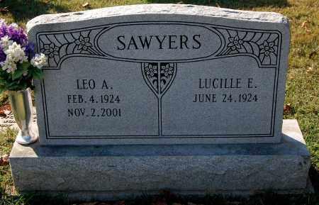 SAWYERS, LEO A. - Gallia County, Ohio | LEO A. SAWYERS - Ohio Gravestone Photos