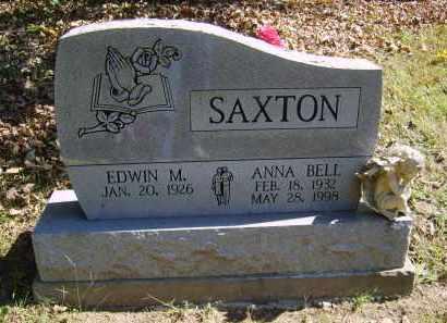 SAXTON, ANNA - Gallia County, Ohio | ANNA SAXTON - Ohio Gravestone Photos
