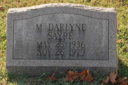 SAYRE, M. DARLYNE - Gallia County, Ohio | M. DARLYNE SAYRE - Ohio Gravestone Photos