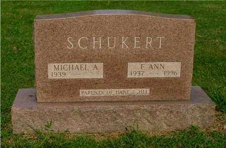 SCHUKERT, F. ANN - Gallia County, Ohio | F. ANN SCHUKERT - Ohio Gravestone Photos
