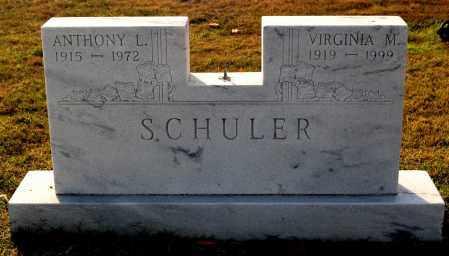 SCHULER, ANTHONY L - Gallia County, Ohio | ANTHONY L SCHULER - Ohio Gravestone Photos
