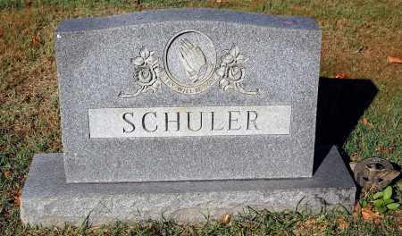 SCHULER, FAMILY MONUMENT - Gallia County, Ohio | FAMILY MONUMENT SCHULER - Ohio Gravestone Photos