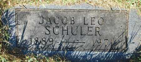 SCHULER, JACOB LEO - Gallia County, Ohio | JACOB LEO SCHULER - Ohio Gravestone Photos