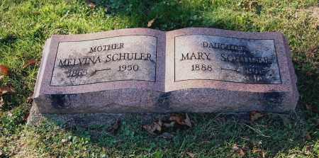 EBLIN SCHULER, MELVINA - Gallia County, Ohio | MELVINA EBLIN SCHULER - Ohio Gravestone Photos