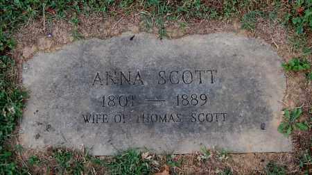 SCOTT, ANNA - Gallia County, Ohio | ANNA SCOTT - Ohio Gravestone Photos