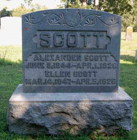 RIFE SCOTT, ELLEN - Gallia County, Ohio | ELLEN RIFE SCOTT - Ohio Gravestone Photos
