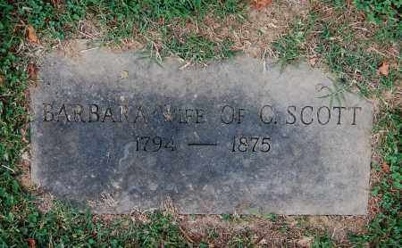 SCOTT, BARBARA - Gallia County, Ohio | BARBARA SCOTT - Ohio Gravestone Photos