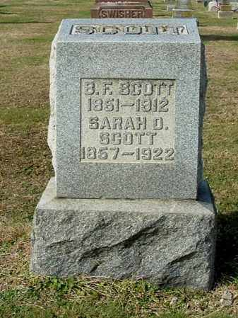 ATHEY SCOTT, SARAH DRUZELLA - Gallia County, Ohio | SARAH DRUZELLA ATHEY SCOTT - Ohio Gravestone Photos