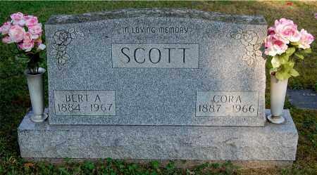 SCOTT, CORA - Gallia County, Ohio   CORA SCOTT - Ohio Gravestone Photos