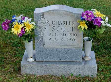 SCOTT, CHARLES - Gallia County, Ohio | CHARLES SCOTT - Ohio Gravestone Photos