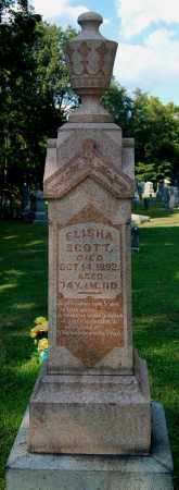 SCOTT, ELISHA - Gallia County, Ohio   ELISHA SCOTT - Ohio Gravestone Photos