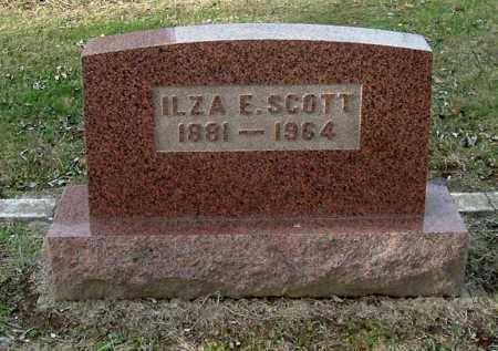 SCOTT, ILZA E - Gallia County, Ohio   ILZA E SCOTT - Ohio Gravestone Photos