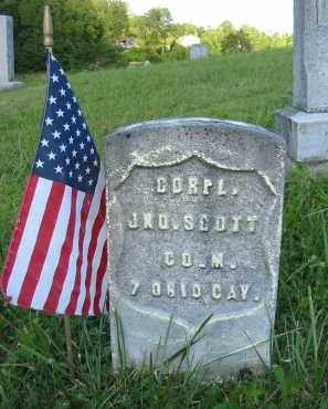 SCOTT, JNO. - Gallia County, Ohio | JNO. SCOTT - Ohio Gravestone Photos