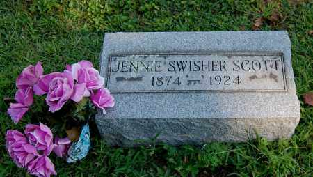 SCOTT, JENNIE - Gallia County, Ohio | JENNIE SCOTT - Ohio Gravestone Photos